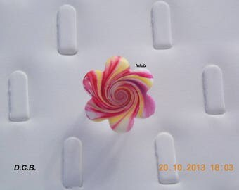 30 MM IN DIAMETER POLYMER CLAY ADJUSTABLE RING