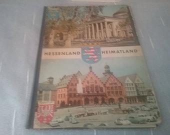 Book / Atlas / School Atlas Hessenland country / primary school / 1962