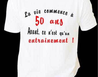 T-SHIRT 50 YEARS ANNIVERSARY