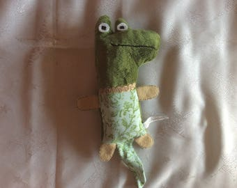 Green crocodile Plushie