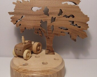 "PENCIL holder ""tractor baby 1"""