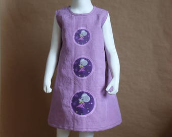 Melusine - 4t cotton girl dress