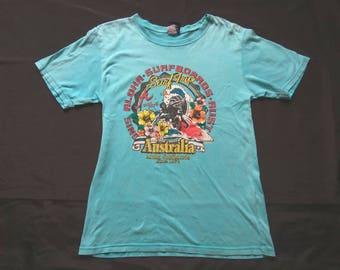 Vintage 80s Aloha Surfboards Australia Tshirt