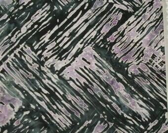 Black and purple - 100% cotton patchwork - 170 batik fabric