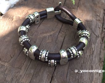 Man Leather Fashion Bracelet