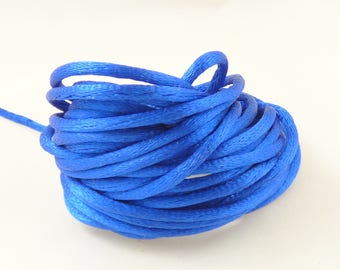 5 m blue rat tail cord electric 2.5 mm