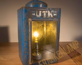 Vintage Oil Can Lamp