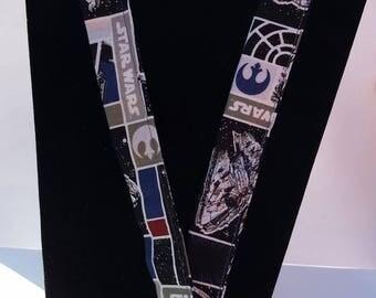 Star Wars Fabric Lanyard with ID Holder