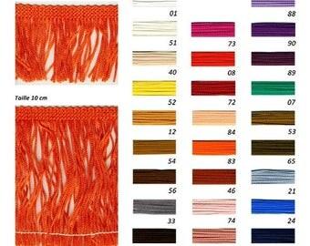 Stripe fringe acetate washable width 5cm 26 colors