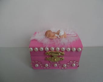 Fimo baby safe box / tooth box