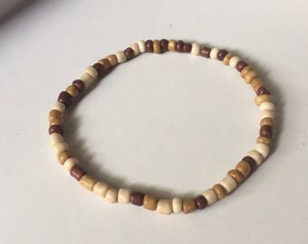 Brown/ boho/ simple bracelet