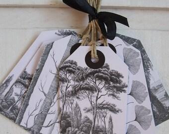 Set of 10 (white) tree