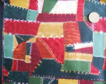 FASHION fabric: Cotton printed Patchwork (coupon 55 x 30 cm) 100% Cotton Patch