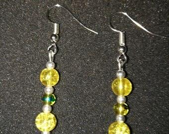 326. Handmade bespoke beaded Earrings