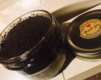 Coffee Sugar Scrub - 8oz Jar