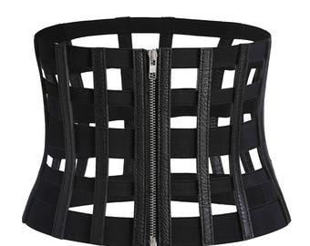 Vintage Cage Corset Belt