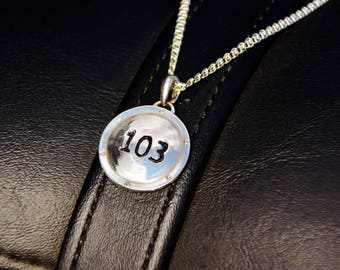 103 Derby Cover Necklace
