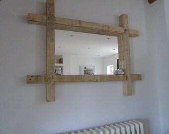 Mirror (reclaimed wood)