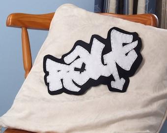 """Felt Graffiti - """"Rage"""""""