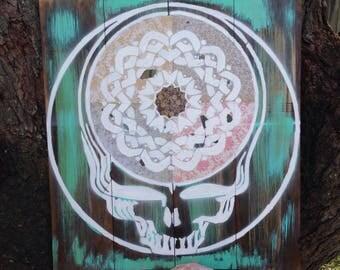 Boho Steely Skull