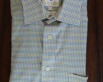Classic Viyella Country Weekend Tattersall Shirt (16-34)
