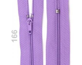 Purple nylon closure size 18 cm