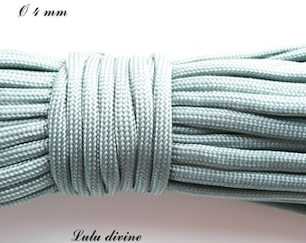 Cord / Paracord 4 mm 550: gray