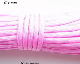 Cord / 550 Paracord 4 mm: light pink
