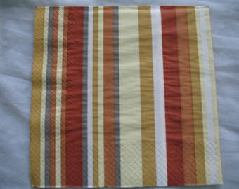 TOWEL DECORATION VERTICAL STRIPES
