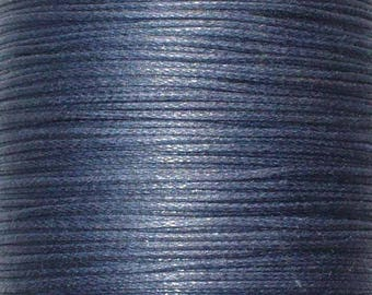 1 M Fil waxed 1 mm Navy Prussian (meter) ACFI11 Navy