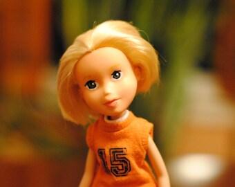 Repainted Bratz doll