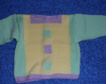 sweater, jacket multicolored 6-8 months