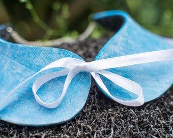 Imitation of Jean collar hand made polymer