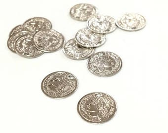X 25 PCs Roman coins 11 mm