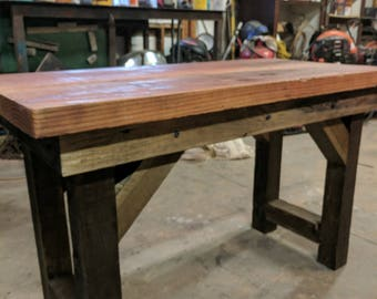 Aged Rustic Dining Table