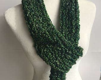 Handmade Knitted Scarf 2023