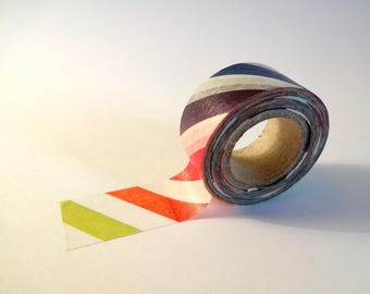 Masking tape stripes - scrapbooking - card making - crafting