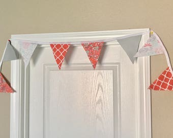 Coral and Gray Bunting