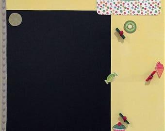 Frame memo slate - for the kitchen