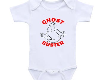 Halloween Costume Ghost Buster Baby Bodysuit, Halloween  Cute baby Bodysuit, halloween costumes Baby Romper Toddler T Shirt,Youth T shirts