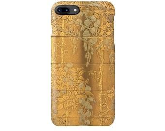 """iPhone case  """" Wisteria trellis Makie Inrou""""  iPhone5/5s/SE/6/6s/6Plus/6sPlus/7/7Plus/8/8Plus/X"""
