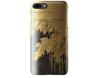 "iPhone case  ""Shiomi Masanari Bamboo grove Inro"""