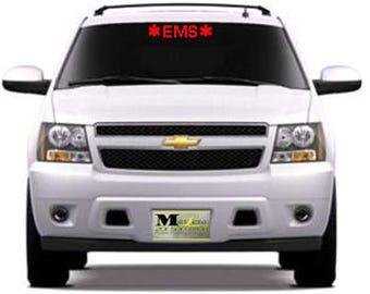 fire, ems, fire rescue windshield vinyl