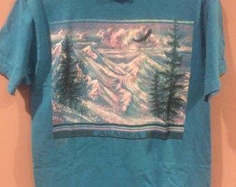 1991 glittery Alaska t shirt