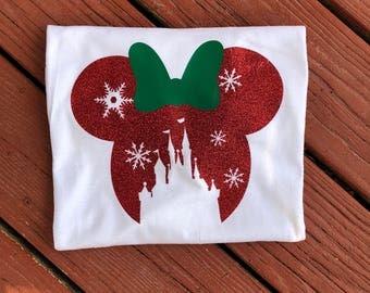 Disney Inspired Christmas Shirt - Mickeys Very Merry Christmas -Disney Family Shirts - Christmas