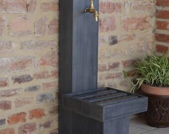 Zinc 0.8 Misterzinc violet garden fountain