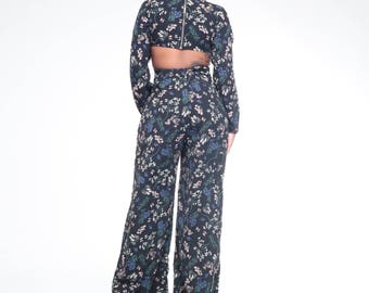 Fun Day Floral Jumpsuit