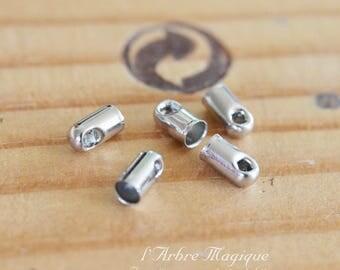caps cords silver 2.4 mm x 50