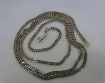 Sterling silver long chain 70cm