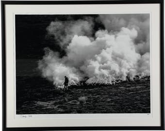 Burning Crops on Black Peak